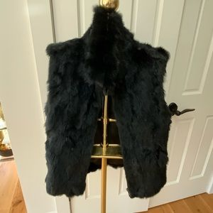 Surell Rabbit fur vest